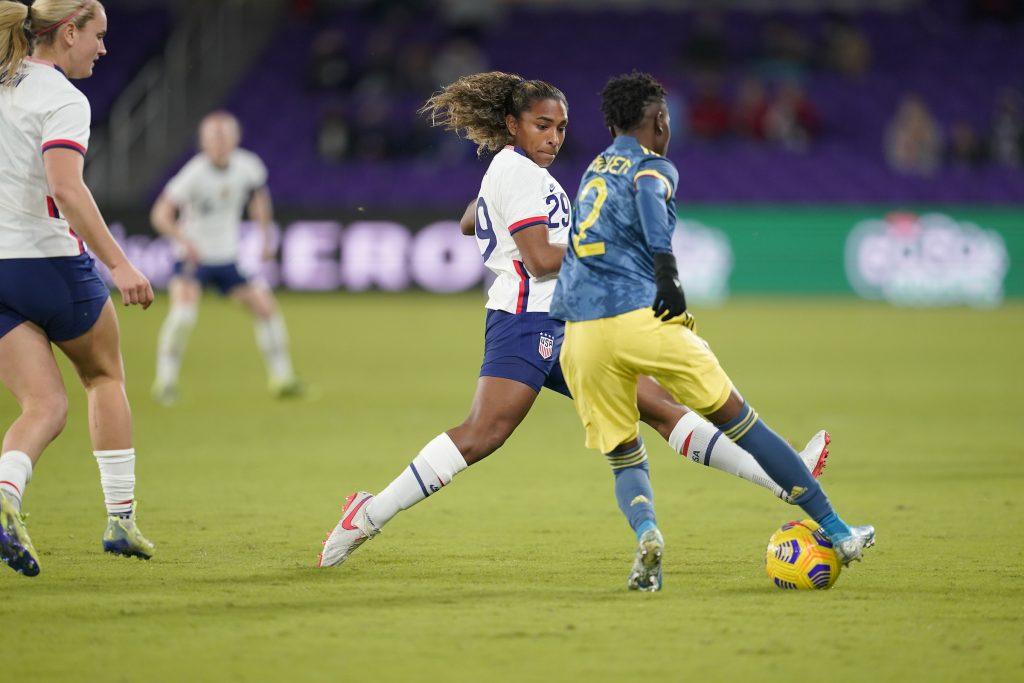 Brasileira Catarina Macario estreia na Seleção dos EUA - Olimpia Sports