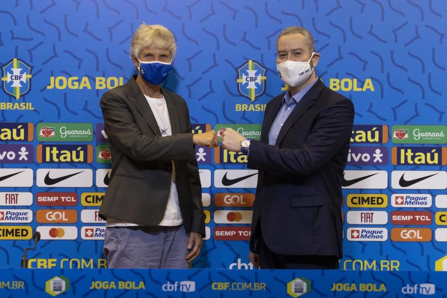 Pia Sundhage renova contrato com a CBF e será técnica da Seleção Brasileira até 2024 - Olimpia Sports