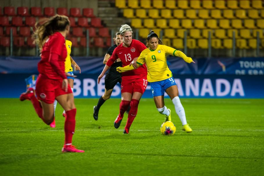 Brasil e Canadá se enfrentam pela terceira vez sob o comando de Pia Sundhage - Olimpia Sports