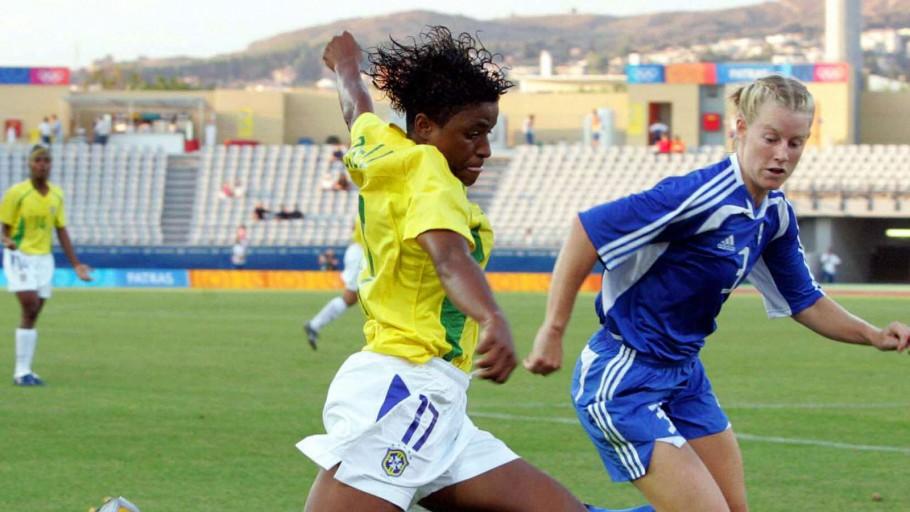 Roseli, a atacante dos gols bonitos - Olimpia Sports