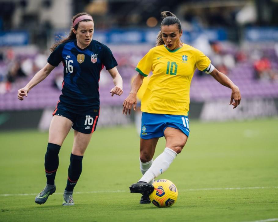 Pia Sundhage elogia evolução da Seleção contra os Estados Unidos - Olimpia Sports