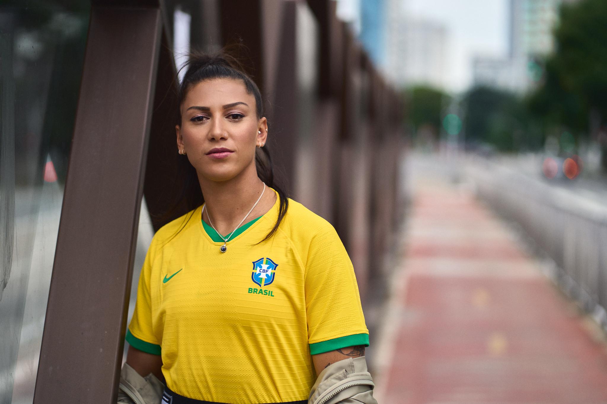 Seleção Brasileira Feminina apresenta uniforme exclusivo - Olimpia Sports