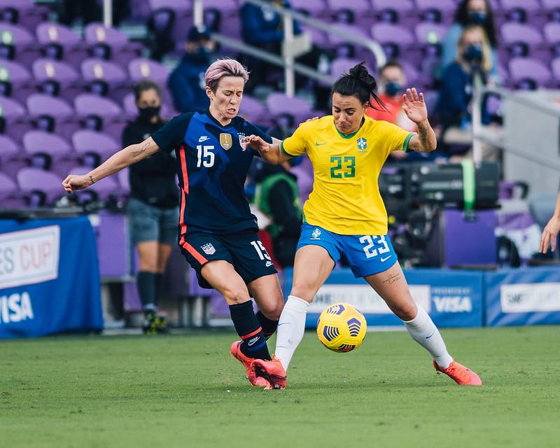 Seleção Feminina cria boas chances, mas é derrotada pelos Estados unidos - Olimpia Sports