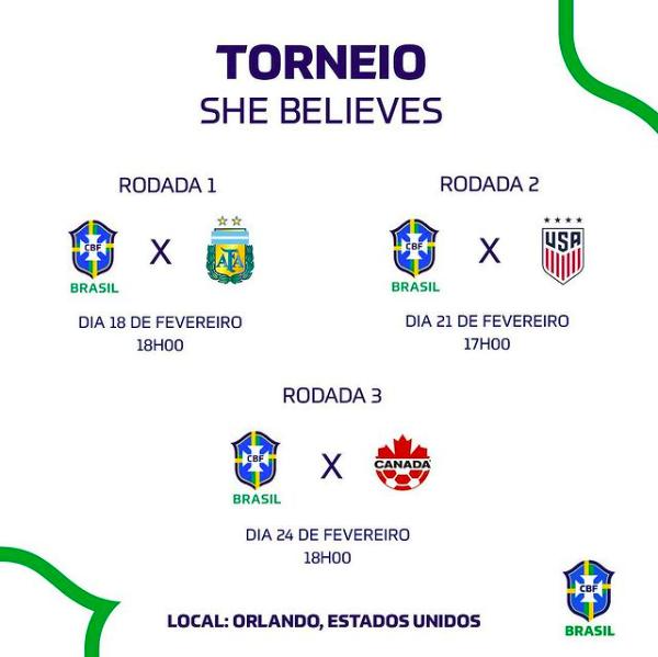 Bruna Benites destaca a importância de enfrentar equipes qualificadas no She Believes - Olimpia Sports