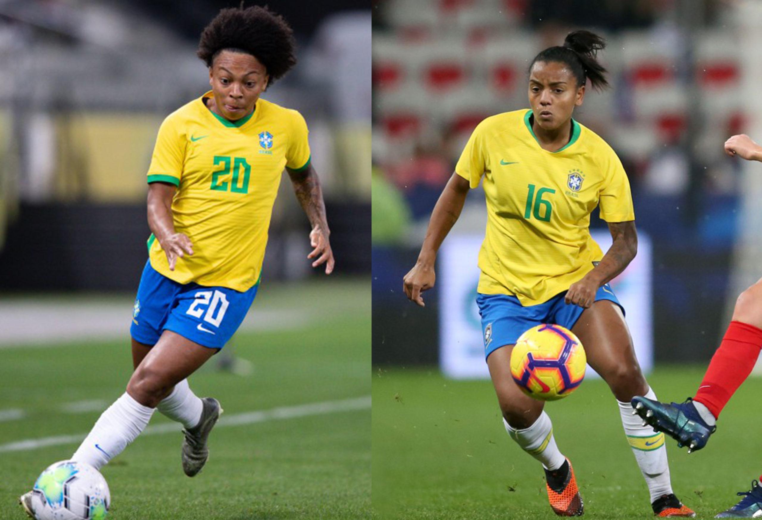 Valéria e Geyse são convocadas para torneio She Believes no lugar de Luana e Formiga - Olimpia Sports