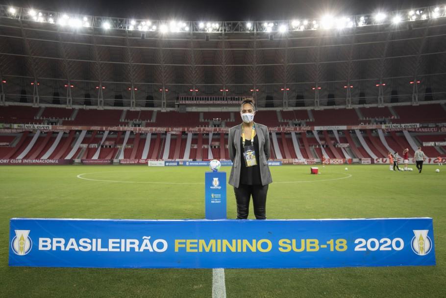 """""""Para uma segunda edição tivemos uma entrega em alto nível"""", diz Aline Pellegrino sobre Brasileiro Feminino Sub-18 - Olimpia Sports"""