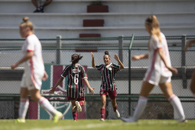 Fluminense vence o Inter no primeiro jogo da decisão do Brasileirão Feminino Sub-18 - Olimpia Sports