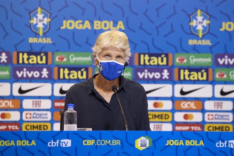 Pia minimiza possíveis desvantagens da falta de jogos preparatórios contra outros países - Olimpia Sports