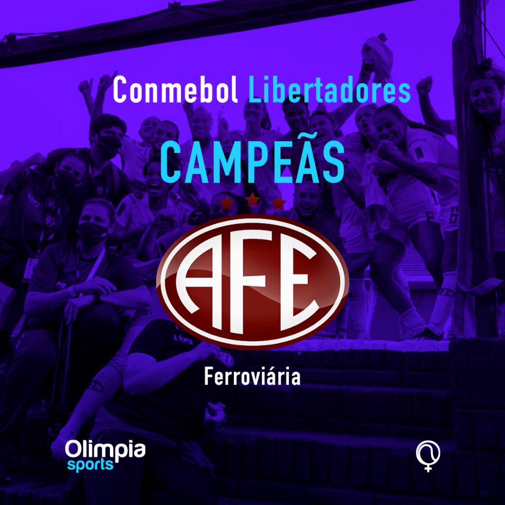 Ferroviária vence o América de Cali por 2 a 1 e é Bicampeã da Libertadores Feminina - Olimpia Sports