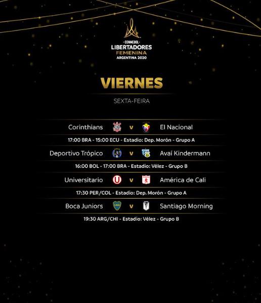 Corinthians e Avaí-Kindermann estreiam na Libertadores Feminina nesta sexta-feira - Olimpia Sports