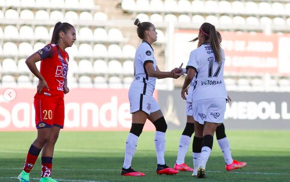 Corinthians atropela o El Nacional e faz 16 a 0 na Libertadores Feminina - Olimpia Sports