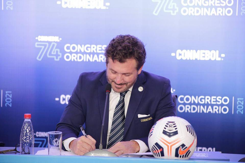 ONU Mulheres e CONMEBOL assinam acordo para fortalecer o futebol feminino - Olimpia Sports