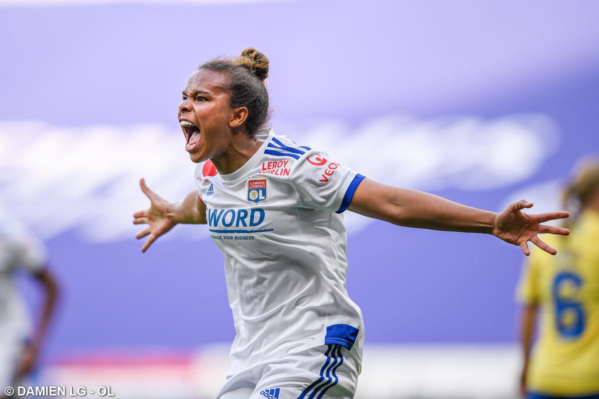 Lyon vence por 2 a 0 o Brondby na Champions League Feminina - Olimpia Sports