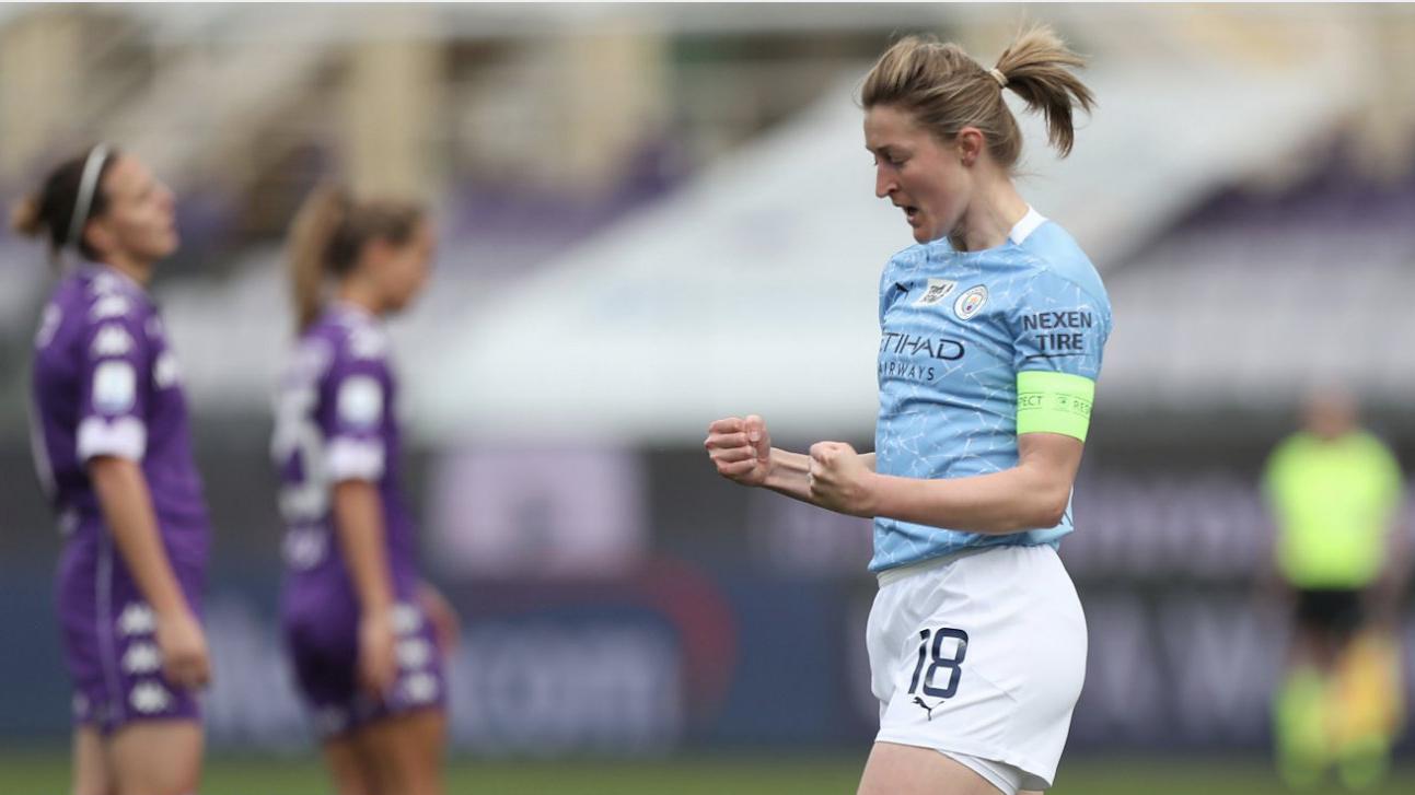 City vence a Fiorentina por 5 a 0 e está nas quartas de final da Champions Feminina - Olimpia Sports