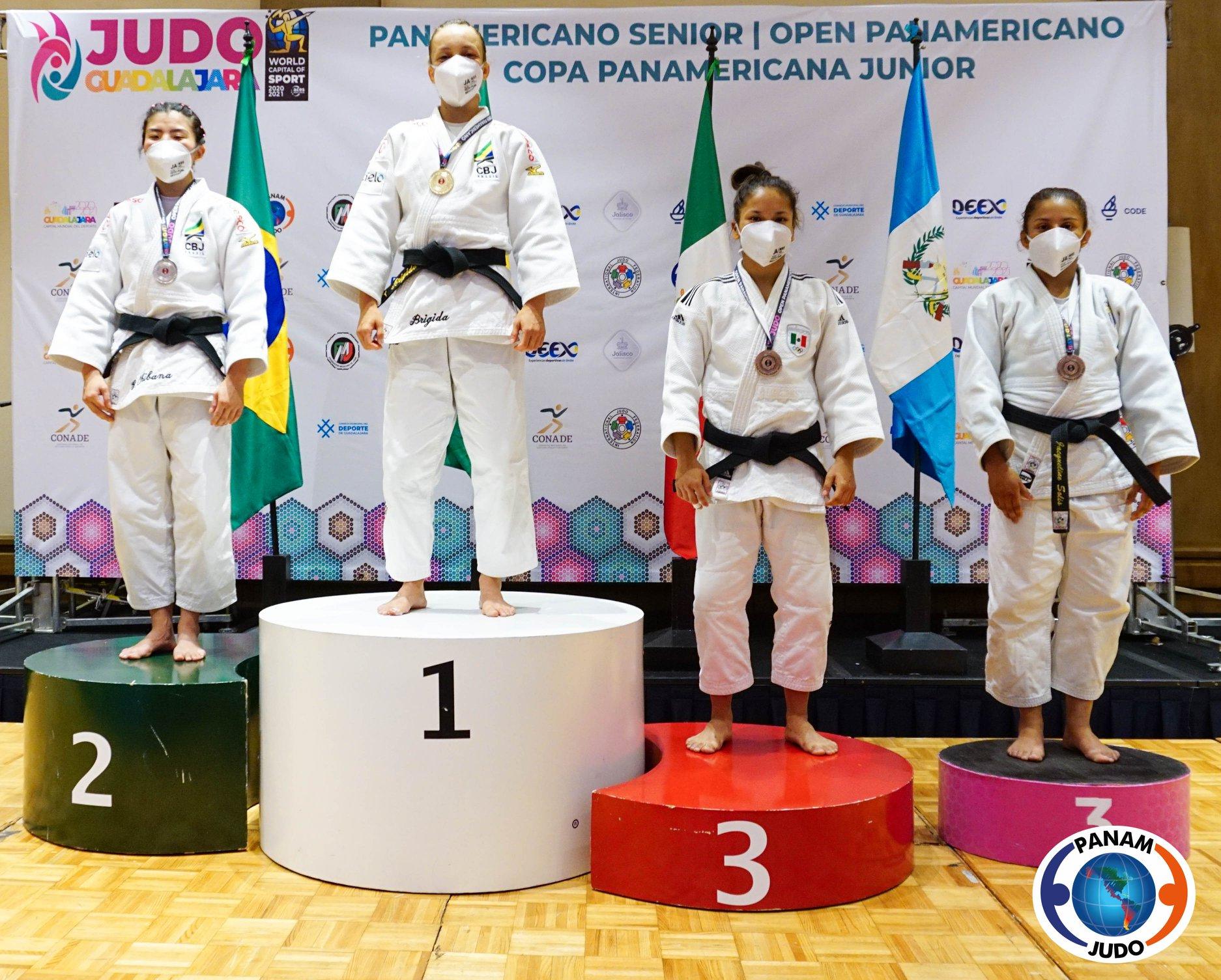 judô 2021 Divulgação Pan Americano de Guadalajara