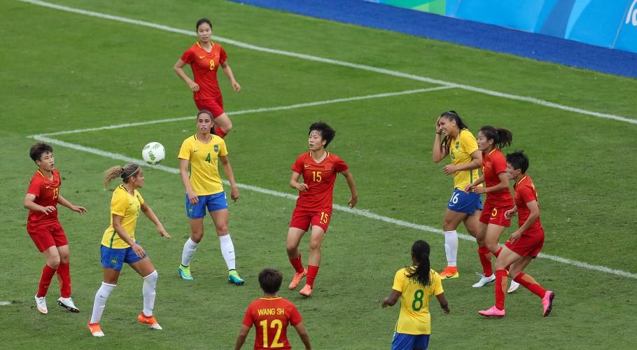 Como na Rio 2016, Seleção Feminina enfrentará a China na estreia de Tóquio 2020  Créditos: Ricardo Stuckert / CBF