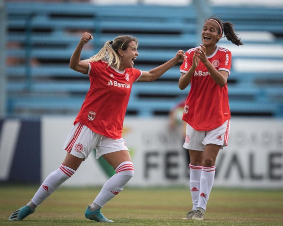 Djenifer completa 100 jogos no Brasileiro Feminino A-1 Créditos: Mariana Capra/Internacional