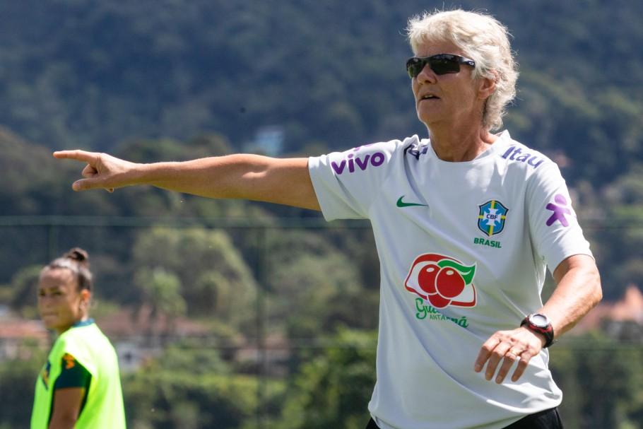 Terceiro treino da Seleção Feminina Principal na Granja Comary - 08/04/2021 Créditos: Laura Zago/CBF