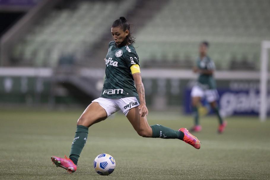 Primeira rodada do Campeonato Brasileiro Feminino A-1. Palmeiras x Ferroviária Créditos: Lucas Figueiredo/CBF