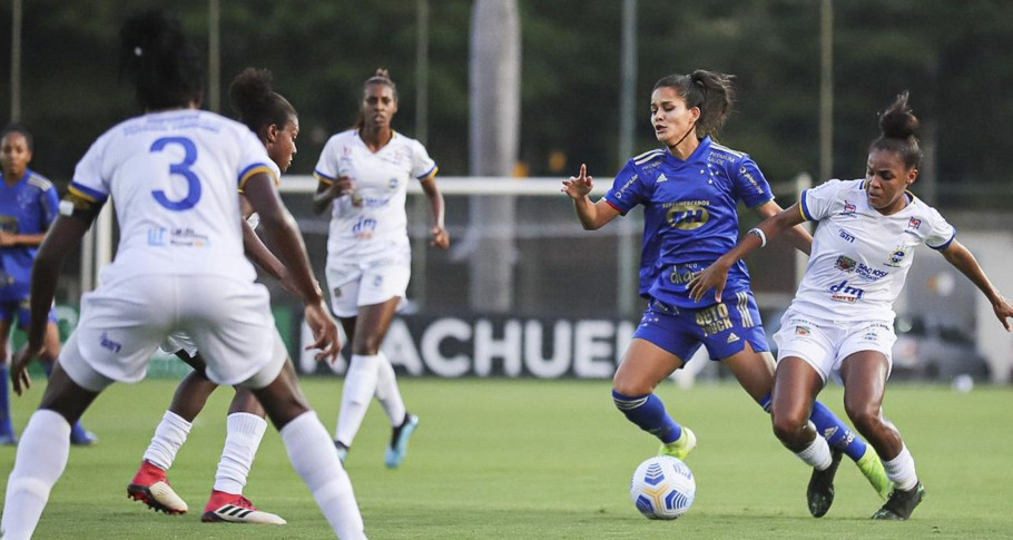Cruzeiro e São José se enfrentam pela quarta rodada do Brasileiro Feminino A-1 2021 Créditos: Igor Sales/Cruzeiro