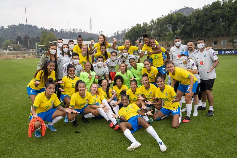 Seleção Sub-20 MÉXICO Jo Marconne / CBFTV