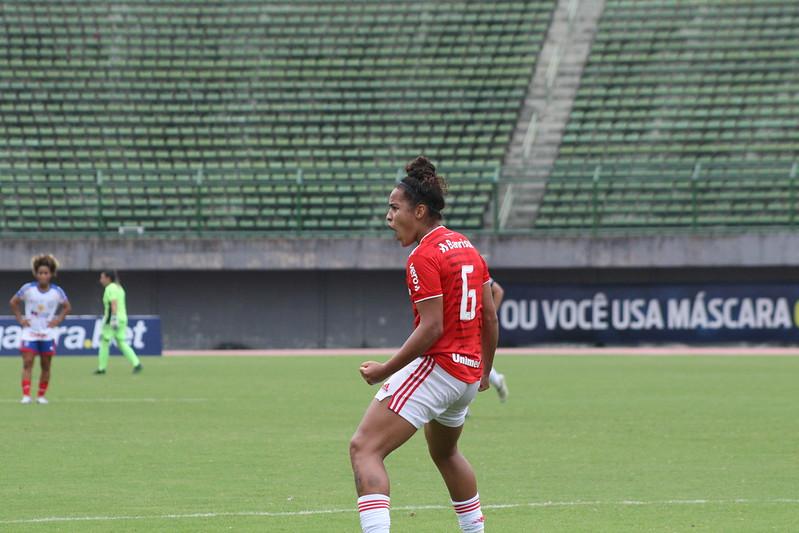 Segunda rodada do Campeonato Brasileiro Feminino A-1. Bahia x Internacional. Mariana Capra / Internacional
