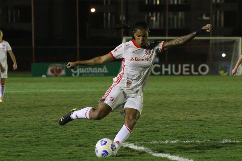 Fabi Simões Rodada 3 brasileirÃo feminino 2021 Flamengo 0x1 Gurias Coloradas | Foto: Mariana Capra / Internacional