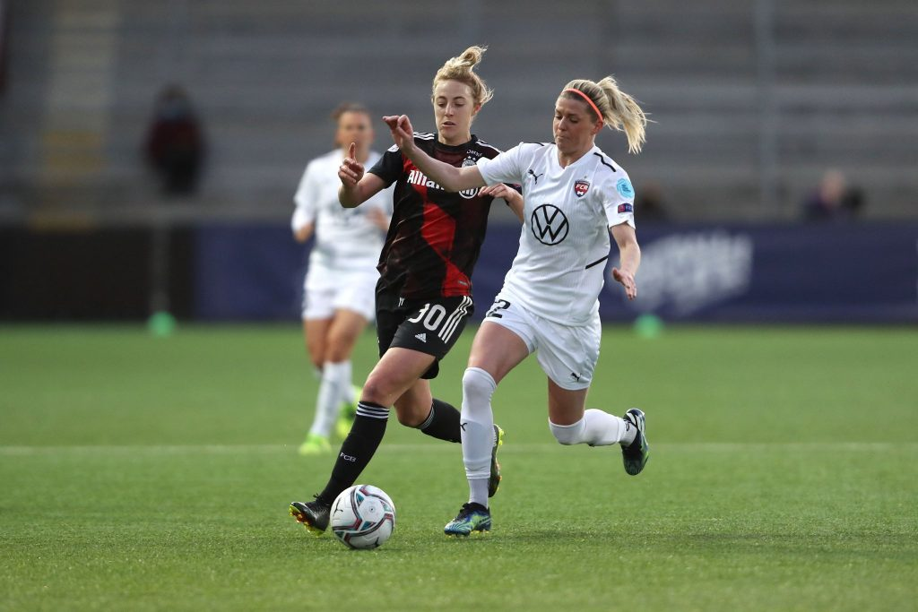 Bayern vence o Rosengard e garante vaga na semifinal da Champions Feminina - Olimpia Sports