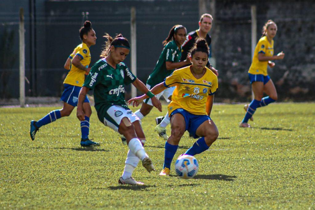 Segunda rodada do Brasileirão Feminino A1. Avai Kindermann x PalmeirasAndrielli Zambonin/Avaí Kindermann
