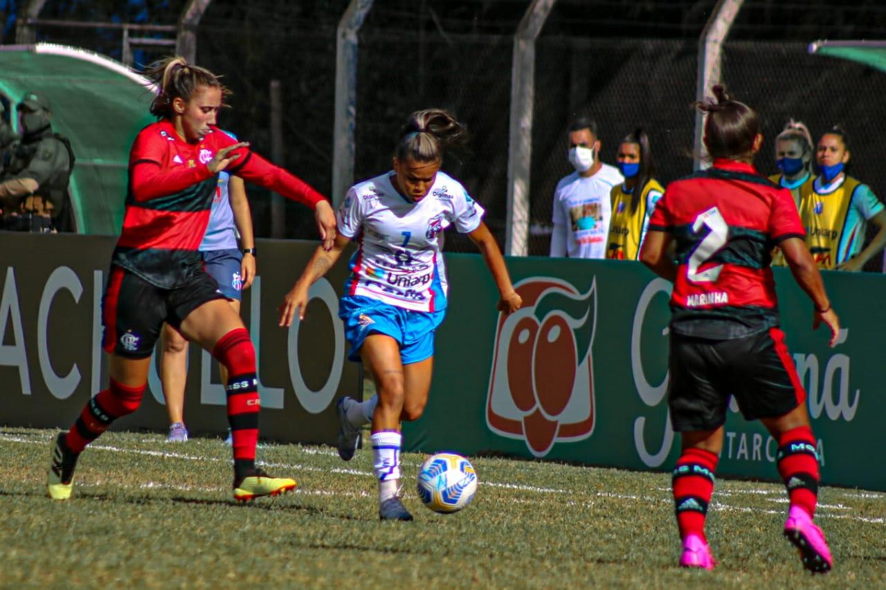 Segunda Rodada do Brasileirão Feminino A1 - Napoli SC x Flamengo | Foto: Andrielli Zambonin/Napoli