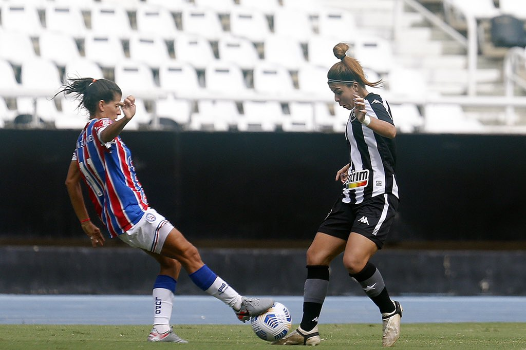 Botafogo e Bahia brasileirão a1 2021 Vitor Silva/ @botafogo