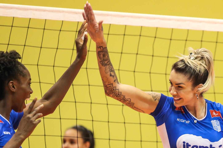 Quarteto finalista da Superliga reforça seleção feminina de vôlei - Olimpia Sports