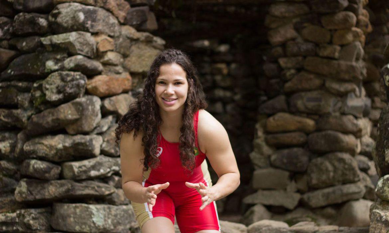 lais-nunes Divulgação / Confederação Brasileira de Wrestling