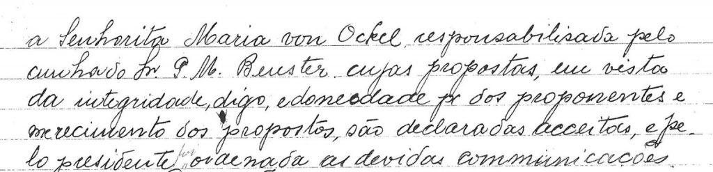 Maria Von Ockel, a primeira mulher a se associar em um clube de futebol no Brasil - Olimpia Sports