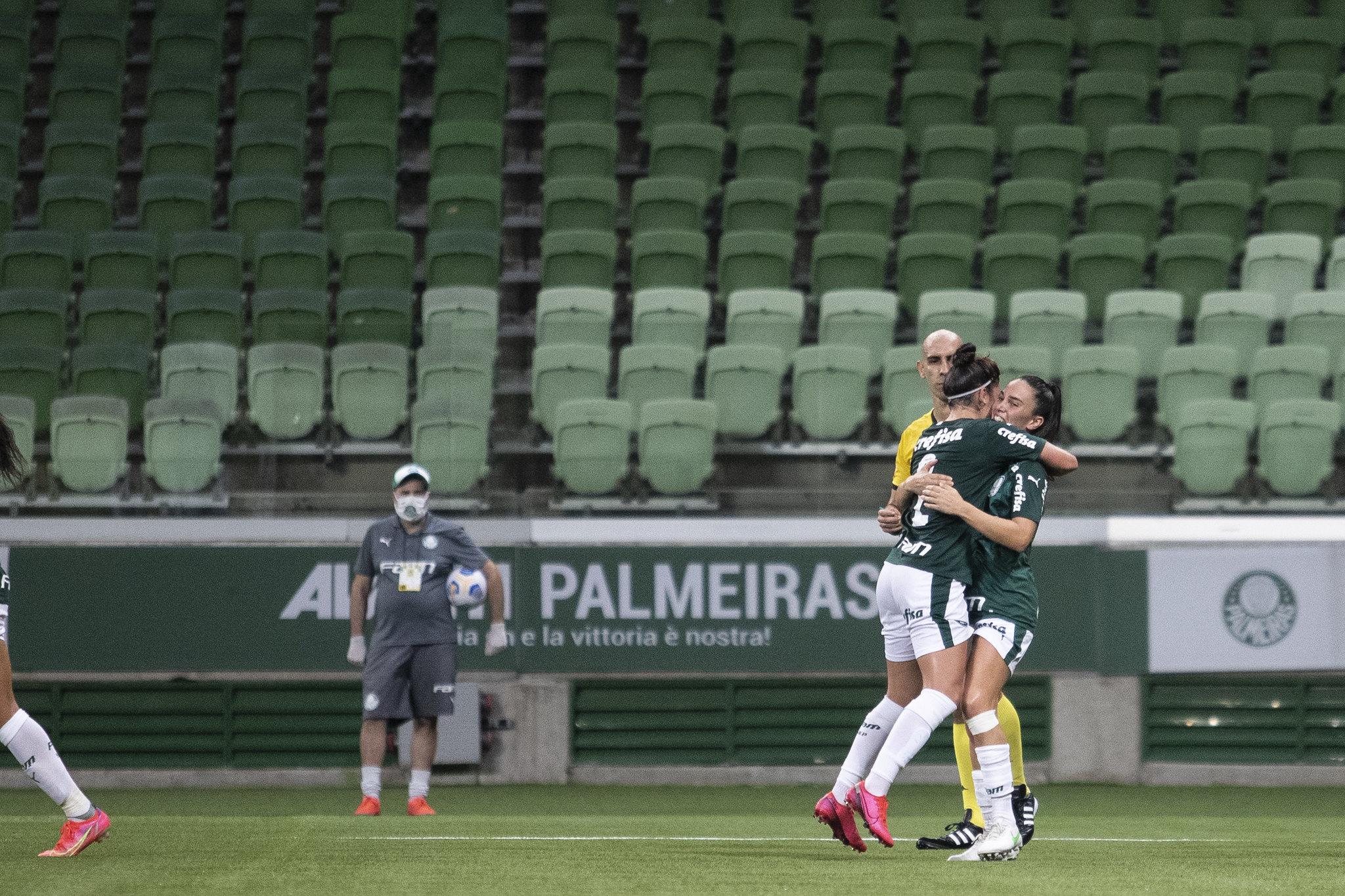 Palmeiras segue invicto e embala quarta vitória consecutiva (Foto: Thaís Magalhães/CBF)