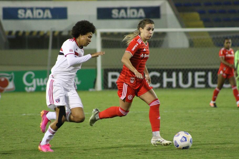 São Paulo e Internacional se enfrentam pela 6ª rodada do Brasileiro Feminino A-1 2021 Créditos: Mariana Capra/Internacional