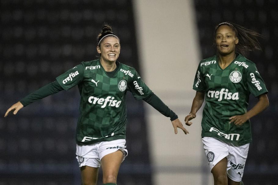 Sexta rodada do Brasileirão Feminino A1: Corinthians x Palmeiras Créditos: Thais Magalhães/CBF