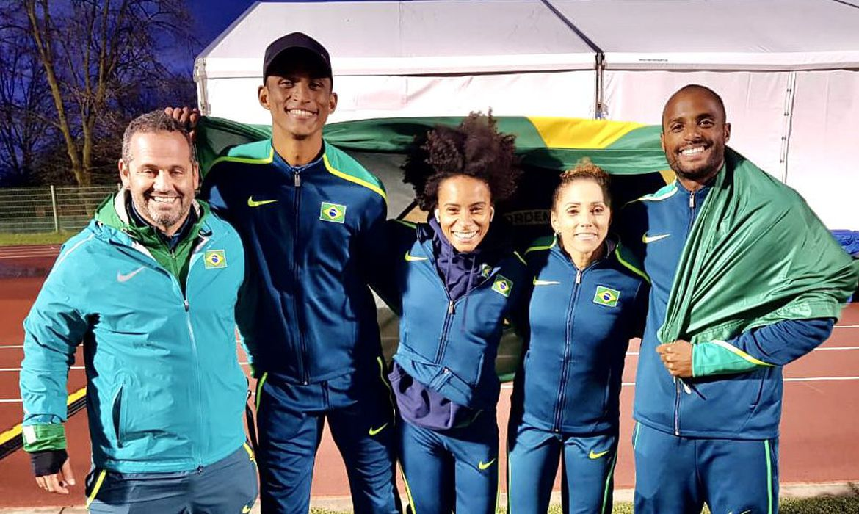 Atletismo revezamento misto Foto: Fernando Reis / CBAt