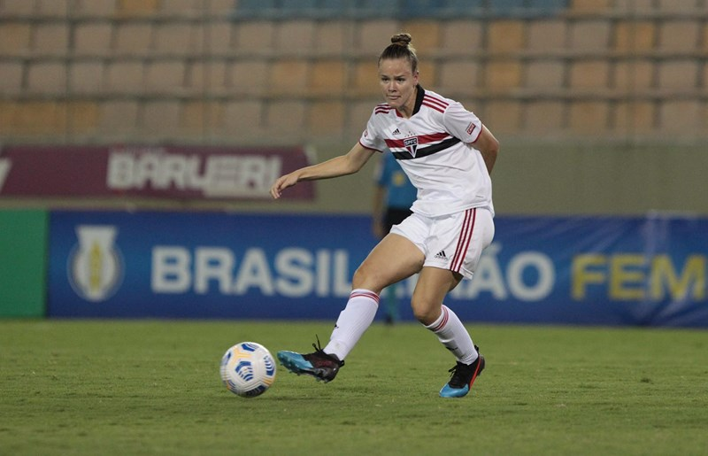 São Paulo x Botafogo sétima rodada do brasileirão Feminino 2021 Rubens Chiri / saopaulofc.net