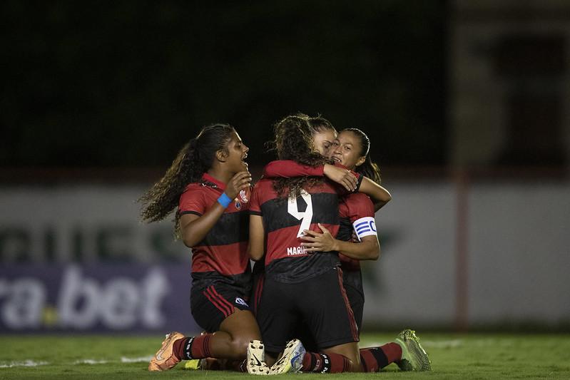 Flamengo conquista a primeira vitória em casa no Brasileirão Feminino 2021   Foto: Thais Magalhães/CBF