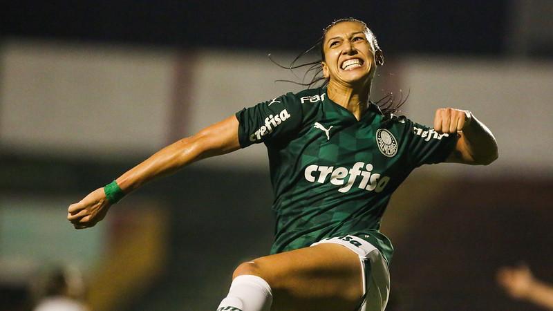 Partida entre Palmeiras e Flamengo, válida pela décima primeira rodada do Campeonato Brasileiro Feminino, no Estádio do Canindé, em São Paulo-SP. (Foto: Fabio Menotti)
