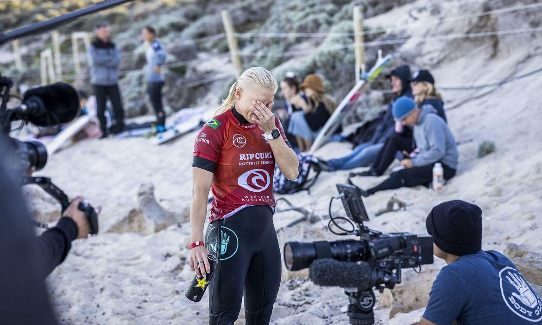 Surfe: Tatiana Weston-Webb é eliminada em Rottnest Search - Olimpia Sports