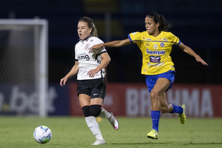 Jogo de ida da final do Brasileirão Feminino A-1 2020 - Avaí-Kindermann x Corinthians Créditos: Thais Magalhães/CBF