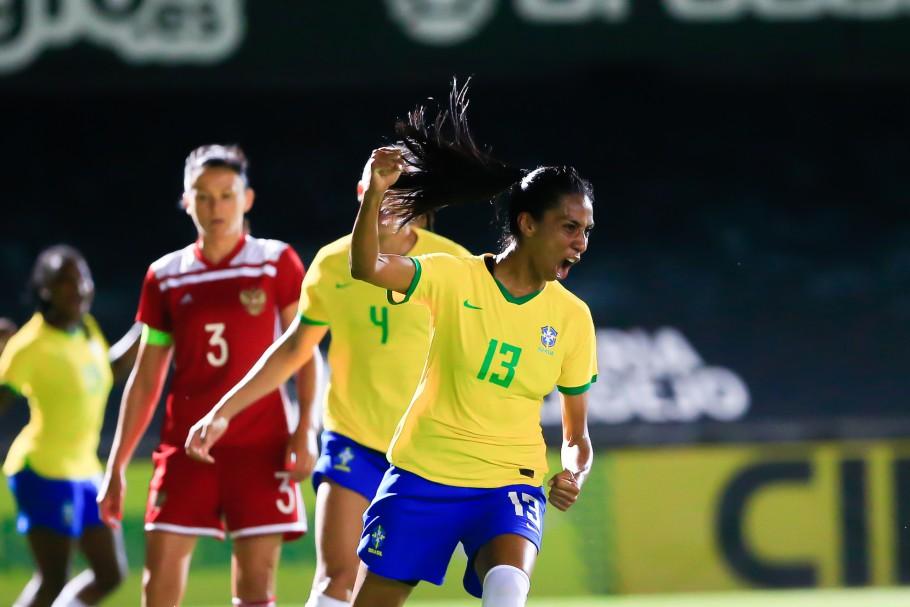 Jogo Preparatório Seleção Feminina Principal - Brasil x Rússia - 11/06/2021 Créditos: Richard Collis/SPP/CBF