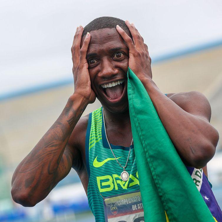 Thiago do Rosário André, ouro nos 800m e perto do índice olímpico - Wagner Carmo/CBAt/Direitos Reservados