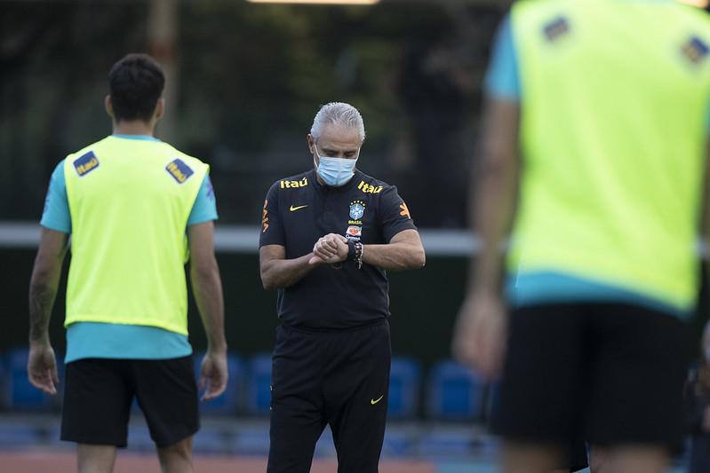 01/06 - Treino da Seleção Brasileira na Granja Comary. Lucas Figueiredo/CBF