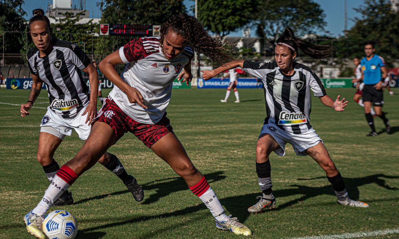 Flamengo x Botafogo Brasileirão Feminino A1 Foto: Paula Reis/CRF