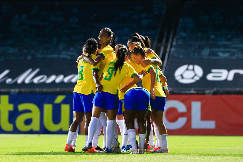 Jogo Preparatório Seleção Feminina Principal - Brasil x Rússia - 11/06/2021. Richard Callis/SPP/CBF