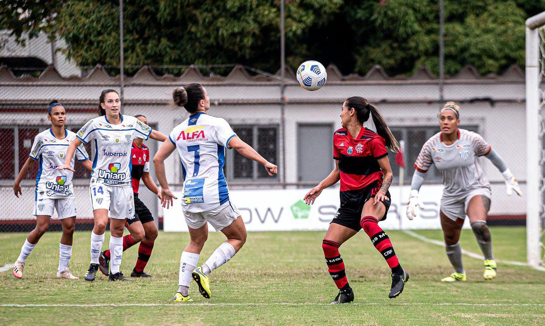brasileirão Feminino Flamengo Avaí Kindermann | Foto Paula Reais / Flamengo