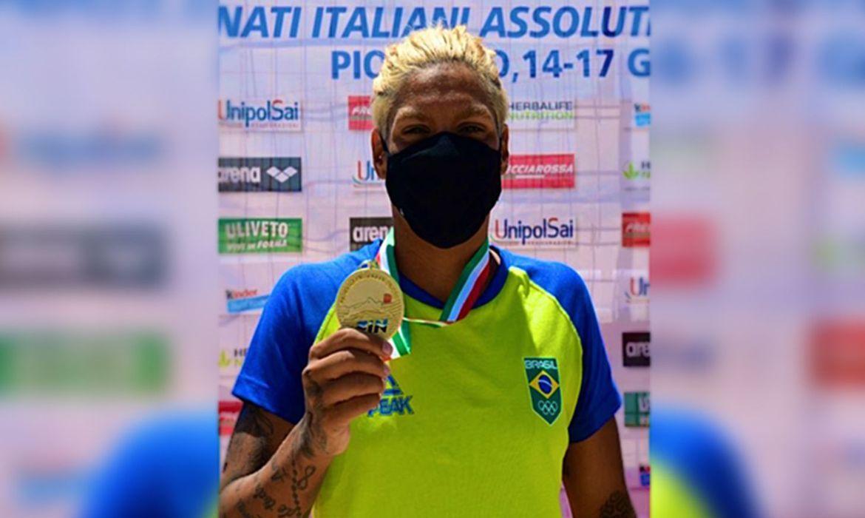 Ana Marcela é ouro no Campeonato Italiano Absoluto de Águas Abertas - Olimpia Sports